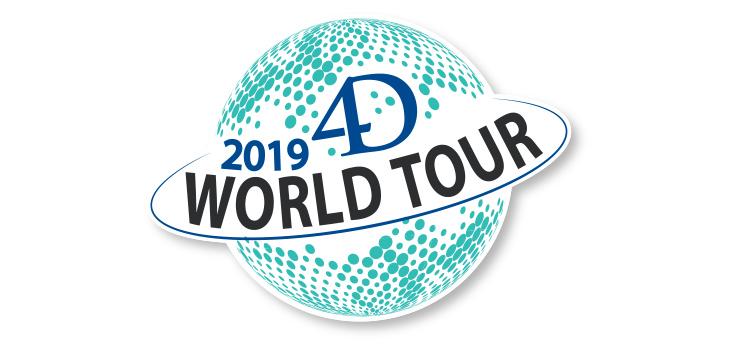 4D World Tour - Inscriptions ouvertes
